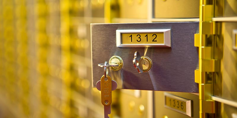 Safety Deposit Boxes Plymouth