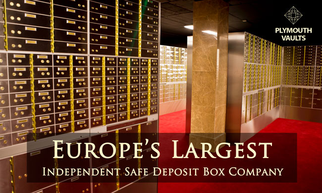 Opening Soon Safety Deposit Boxes Plymouth